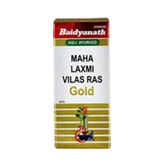 Baidyanath mahalaxmi vilas ras with gold