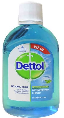 Dettol Liquid Disinfectant for Multi-Purpose Germ Protection, Menthol Cool, 50 ml
